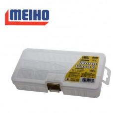 Коробка Meiho Worm Case L(W-L) цвет:прозрачный