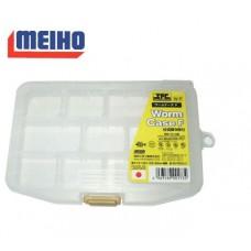 Коробка Meiho Worm Case F(W-F) цвет:прозрачный