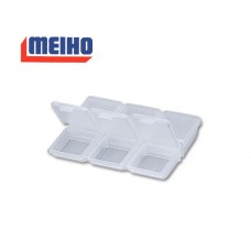 Коробка Meiho FB-6 цвет: прозрачный