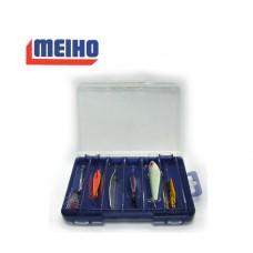 Коробка Meiho REVERSIBLE F-86 clear