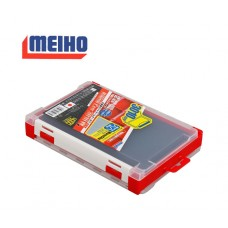 Коробка Meiho RUN GUN CASE 3010W-1 clear/red