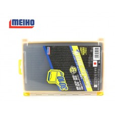 Коробка Meiho RUN GUN CASE 3010W-2 clear/yellow