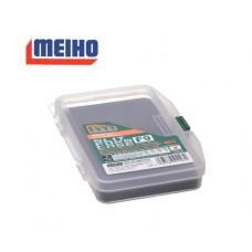 Коробка Meiho SC-F-9 (SLIT FORM CASE F-9) цвет:прозрачный