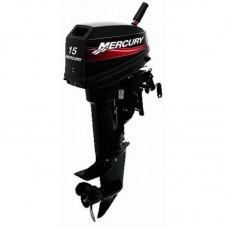 Двухтактный лодочный мотор Mercury 15 M