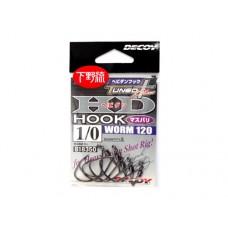 Крючок Decoy Worm 120 HD Hook masubari