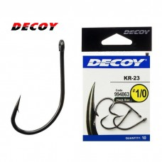 Крючок Decoy KR-23 Black Nickeled