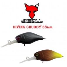 Воблер Jackall Diving Chubby 38мм 4,3г