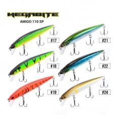 Воблер Megabite  Amigo 110 SP (110 мм, 14,3 гр, 1,0 m)