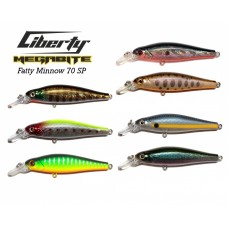 Воблер Megabite  Fatty Minnow 70 SP (70 мм, 10 гр, 1,4 m)