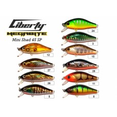 Воблер Megabite  Mini Shad 45 SP (45 мм, 4,3 гр, 0,5 m)