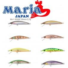 Воблер Maria MJ-1 S50SP 50mm 2,7g SP 0,5m