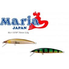 Воблер Maria MJ-1 S70F 70mm 3,8g F 0,5-0,7m