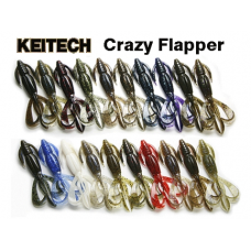 "Силикон Keitech Crazy Flapper 3.6"" (7 шт/упак)"