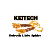 """Силикон Keitech Little Spider 3.5"""" (5 шт/упак)"""