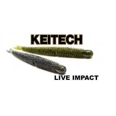 """Силикон Keitech Live Impact 2.5"""" (12 шт/упак)"""