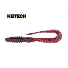 "Силикон Keitech Mad Wag Mini 2.5"" (12 шт/упак) ц:ea#03 grape"