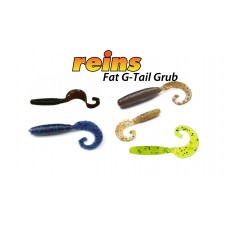 "Силикон Reins FAT G-TAIL GRUB 4"" 10 шт"