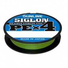Шнур Sunline Siglon PE х4 300m (темн-зел.) #2.5/0.270mm 40lb/18.5kg