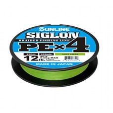 Шнур Sunline Siglon PE х4 150m (салат.) #3.0/0.296mm 50lb/22.0kg