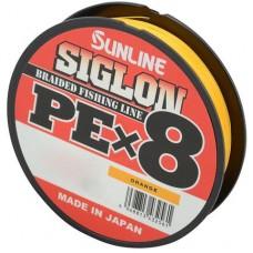 Шнур Sunline Siglon PE х8 150m (оранж.)