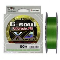 Шнур плетеный YGK G-Soul X4 Upgrade 100m