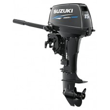 Двухтактный лодочный мотор Suzuki DT 15 AS
