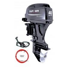 Двухтактный лодочный мотор Parsun T40FWS