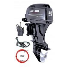 Двухтактный лодочный мотор Parsun T40FWS-Т