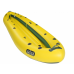 Надувная байдарка Ладья ЛБ-580К-3 Караван комфорт желто-зеленая