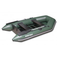 Моторная лодка со сланевым дном Sport Boat Discovery DM260LS