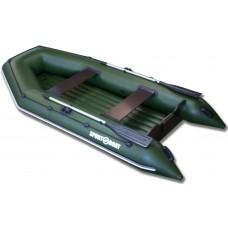 Надувная моторная лодка с надувным дном Sport Boat Neptun N340LD