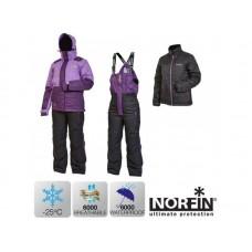Костюм женский зимний мембранный Norfin KVINNA (фиолетовый) -30 ° / 6000мм