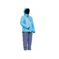 Костюм женский зимний мембранный Norfin SNOWFLAKE (голубой) -30 ° / 6000мм