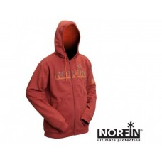 Куртка флисовая с капюшоном Norfin Hoody Red