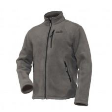 Куртка флисовая с искусственным мехом NORFIN NORTH (серый)