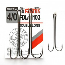 Крючок двойной DOUBLE LONG FDL-11103