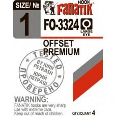 Крючок офсетный OFFSET PREMIUM FO-3324