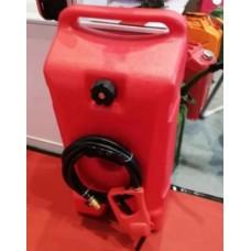 Топливный бак для лодочного мотора 53 л на колесах с шлангом и насосом