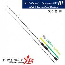 Удилище Yamaga Blanks Blue Current III BLC-63